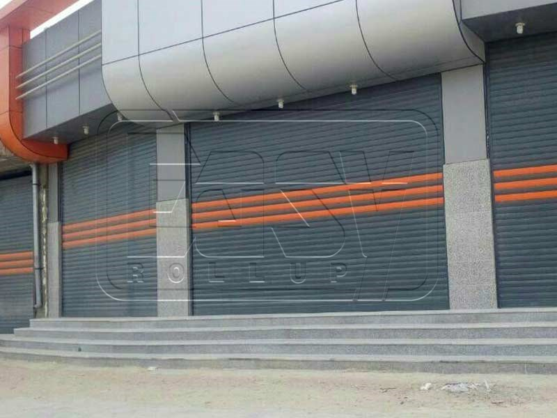 Galvanized anti-ignition roller shutter