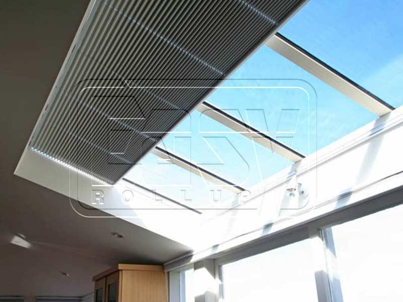 پرده رولاپ زیر سقفی