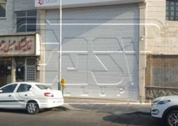 Industrial roller shutter LG store