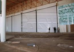 پروژه کرکره صنعتی نمایشگاه بین المللی کیش