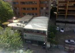پروژه سایبان ثابت پارکینگ رستوران مقدس اردبیلی