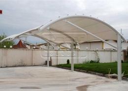 پروژه سایبان ثابت پارکینگی