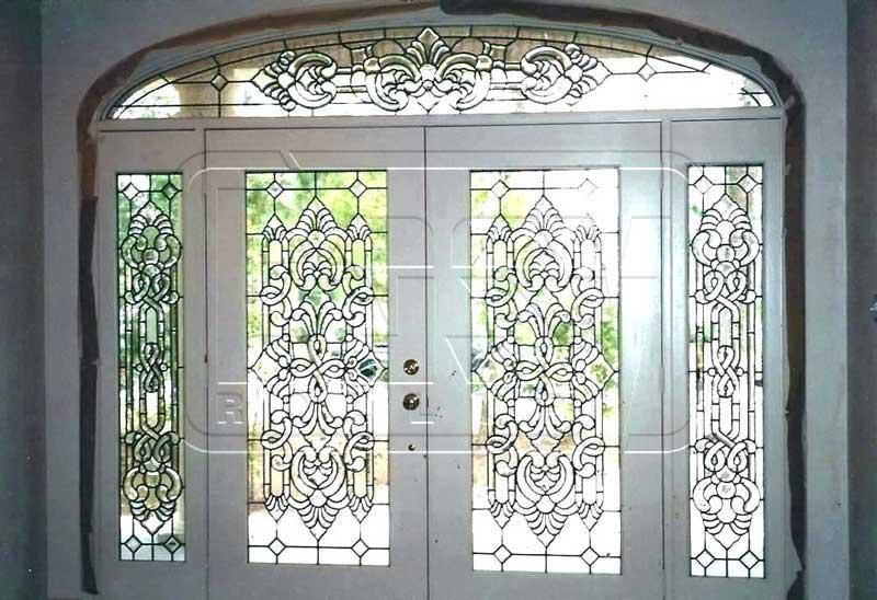 طراحی روی شیشه