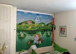 پروژه پرده رولاپ مهد کودک