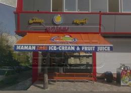 پروژه سایبان بازویی بستنی مامان زری لویزان
