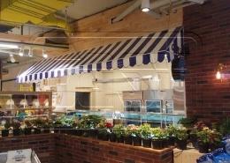 پروژه سایبان ثابت کلاسیک نیاوران روشا هایپر مارکت