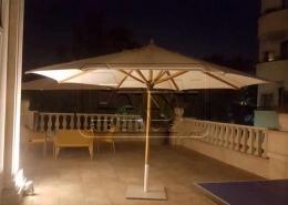 پروژه سایبان چتری ثابت