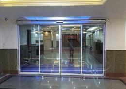 پروژه شیشه اتوماتیک اسلایدینگ برج های شهرک صدف