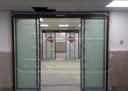 پروژه شیشه اتوماتیک اسلایدینگ دانشگاه امام صادق