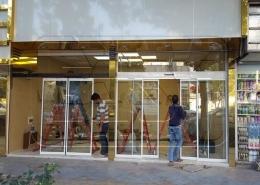 پروژه شیشه اتوماتیک اسلایدینگ نازی آباد