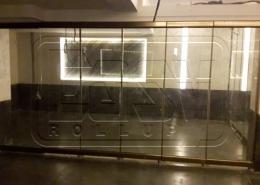 پروژه شیشه تاشو بالکن هتل پارسیان عباس آباد
