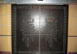 پروژه های طراحی روی شیشه اسید کاری