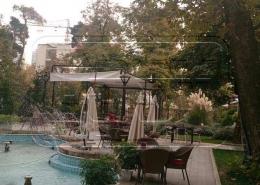 پروژه پرده سقفی باغ موزه نیاوران