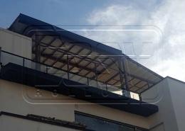 پروژه پرده سقفی بام لند دریاچه خلیج فارس