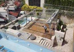 پروژه پرده سقفی شهرک باستی لواسان