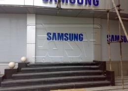 پروژه کرکره فروشگاهی سامسونگ کرج