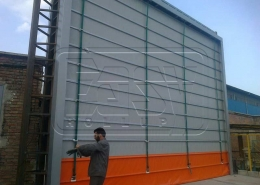 High-Speed Roller Shutter Naser Plastic Hakimieh Factory