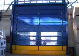 الأبواب السحابه الأوتوماتیکیه السریعه فی مشروع حایرآسا