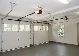 درب کرکره اتوماتیک زیر سقفی یا سکشنال
