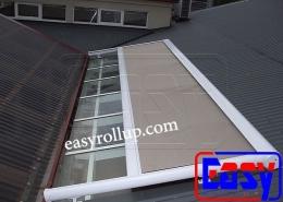 پرده اتوماتیک رولاپ زیر سقفی